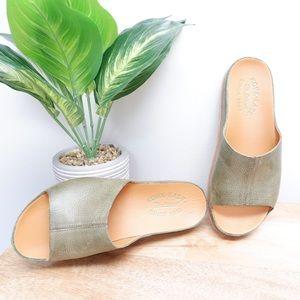 KORK-EASE TUTSI BEST SELLING SANDAL IN GREEN